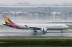 kaeru6006さんが、羽田空港で撮影したアシアナ航空 A330-323Xの航空フォト(飛行機 写真・画像)