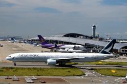 we love kixさんが、関西国際空港で撮影したキャセイパシフィック航空 777-31Hの航空フォト(飛行機 写真・画像)