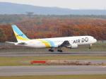 むらさめさんが、新千歳空港で撮影したAIR DO 767-381/ERの航空フォト(飛行機 写真・画像)