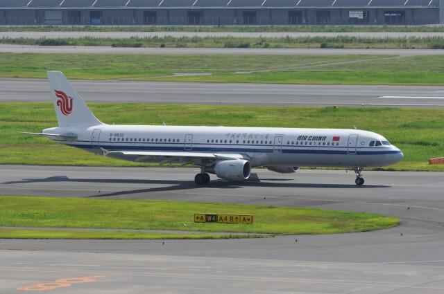 kumagorouさんが、羽田空港で撮影した中国国際航空 A321-213の航空フォト(飛行機 写真・画像)
