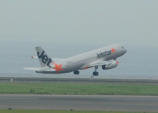 まひろさんが、中部国際空港で撮影したジェットスター・ジャパン A320-232の航空フォト(飛行機 写真・画像)