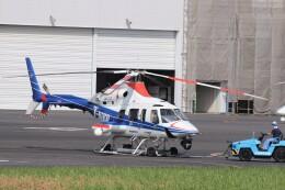 KAZFLYERさんが、東京ヘリポートで撮影した中日本航空 430の航空フォト(飛行機 写真・画像)