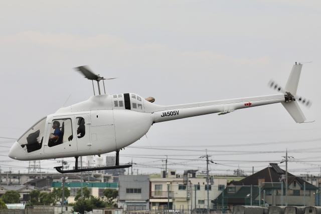 Hii82さんが、八尾空港で撮影した日本法人所有 505 Jet Ranger Xの航空フォト(飛行機 写真・画像)