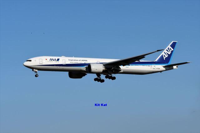 キットカットさんが、成田国際空港で撮影した全日空 777-381/ERの航空フォト(飛行機 写真・画像)