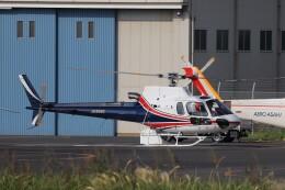 KAZFLYERさんが、東京ヘリポートで撮影したノエビア AS350B3 Ecureuilの航空フォト(飛行機 写真・画像)
