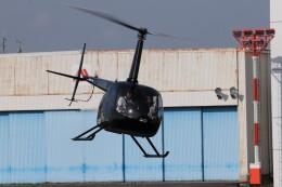 KAZFLYERさんが、東京ヘリポートで撮影した日本法人所有 R66 Turbineの航空フォト(飛行機 写真・画像)