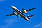 くれないさんが、福岡空港で撮影したANAウイングス DHC-8-402Q Dash 8の航空フォト(飛行機 写真・画像)