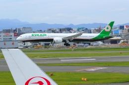 くれないさんが、福岡空港で撮影したエバー航空 787-10の航空フォト(飛行機 写真・画像)