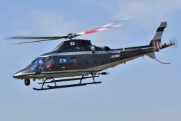 ブルーさんさんが、東京ヘリポートで撮影した警視庁 A109S Trekkerの航空フォト(飛行機 写真・画像)