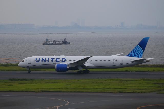 乙事さんが、羽田空港で撮影したユナイテッド航空 787-9の航空フォト(飛行機 写真・画像)