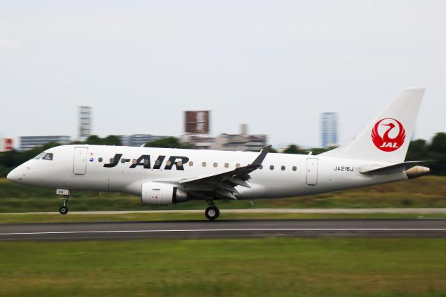 えのびよーんさんが、伊丹空港で撮影したジェイエア ERJ-170-100 (ERJ-170STD)の航空フォト(飛行機 写真・画像)