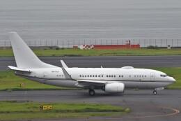 B747‐400さんが、羽田空港で撮影したロイヤル・ジェット 737-77W BBJの航空フォト(飛行機 写真・画像)