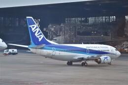 B747‐400さんが、羽田空港で撮影したANAウイングス 737-54Kの航空フォト(飛行機 写真・画像)