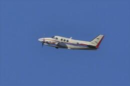 kumagorouさんが、仙台空港で撮影した航空大学校 C90A King Airの航空フォト(飛行機 写真・画像)