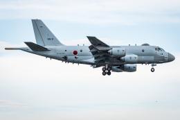 I.Kさんが、厚木飛行場で撮影した海上自衛隊 P-1の航空フォト(飛行機 写真・画像)
