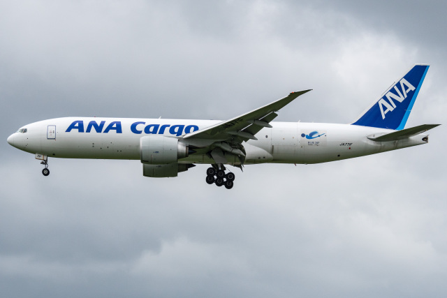 I.Kさんが、成田国際空港で撮影した全日空 777-F81の航空フォト(飛行機 写真・画像)