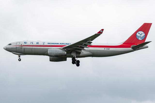 I.Kさんが、成田国際空港で撮影した四川航空 A330-243Fの航空フォト(飛行機 写真・画像)