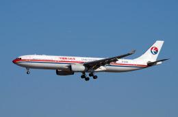 szkkjさんが、成田国際空港で撮影した中国東方航空 A330-343Xの航空フォト(飛行機 写真・画像)