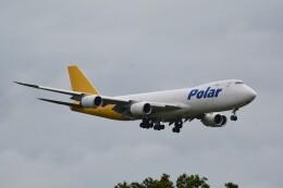 LEGACY-747さんが、成田国際空港で撮影したポーラーエアカーゴ 747-87UF/SCDの航空フォト(飛行機 写真・画像)