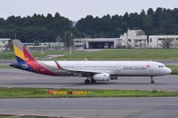 Jyunpei Ohyamaさんが、成田国際空港で撮影したアシアナ航空 A321-231の航空フォト(飛行機 写真・画像)