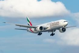 Ariesさんが、関西国際空港で撮影したエミレーツ航空 777-31H/ERの航空フォト(飛行機 写真・画像)