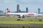 LEGACY-747さんが、成田国際空港で撮影したスイスインターナショナルエアラインズ 777-3DE/ERの航空フォト(飛行機 写真・画像)