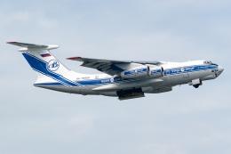 Ariesさんが、関西国際空港で撮影したヴォルガ・ドニエプル航空 Il-76TDの航空フォト(飛行機 写真・画像)