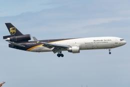 Ariesさんが、関西国際空港で撮影したUPS航空 MD-11Fの航空フォト(飛行機 写真・画像)