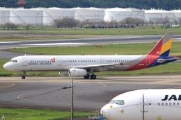 Hiro-hiroさんが、成田国際空港で撮影したアシアナ航空 A321-231の航空フォト(飛行機 写真・画像)