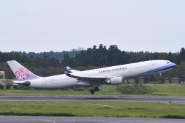 Jyunpei Ohyamaさんが、成田国際空港で撮影したチャイナエアライン A330-302の航空フォト(飛行機 写真・画像)