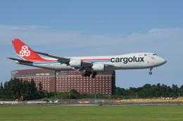 神宮寺ももさんが、成田国際空港で撮影したカーゴルクス 747-8R7F/SCDの航空フォト(飛行機 写真・画像)