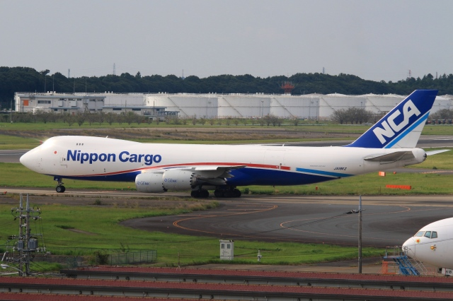 Hiro-hiroさんが、成田国際空港で撮影した日本貨物航空 747-8KZF/SCDの航空フォト(飛行機 写真・画像)