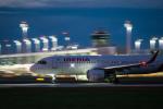 gomaさんが、ミュンヘン・フランツヨーゼフシュトラウス空港で撮影したイベリア航空 A320-251Nの航空フォト(飛行機 写真・画像)