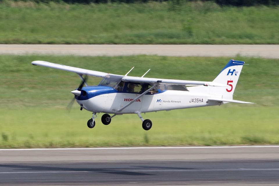 yabyanさんの本田航空 Cessna 172 (JA35HA) 航空フォト