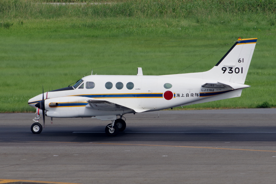 yabyanさんの海上自衛隊 Beechcraft 90 King Air (9301) 航空フォト