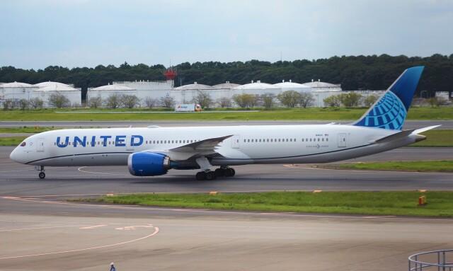 Rsaさんが、成田国際空港で撮影したユナイテッド航空 787-10の航空フォト(飛行機 写真・画像)