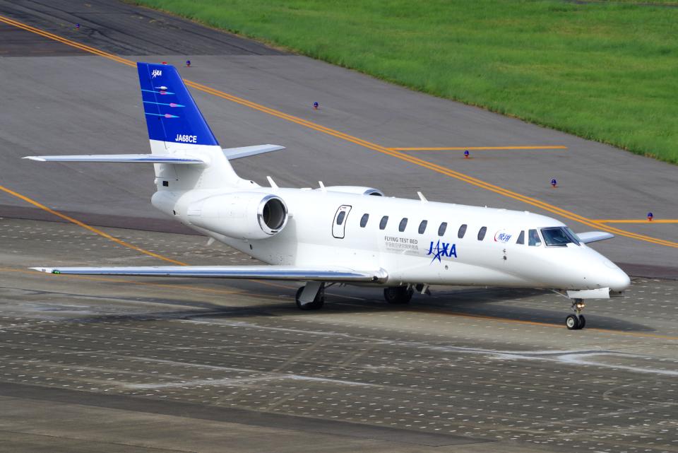 yabyanさんの宇宙航空研究開発機構 Cessna 680 Citation Sovereign/Sovereign+ (JA68CE) 航空フォト