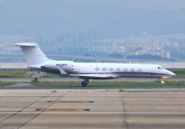 LOTUSさんが、関西国際空港で撮影したPrivate G500/G550 (G-V)の航空フォト(飛行機 写真・画像)