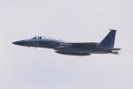 キイロイトリさんが、嘉手納飛行場で撮影したアメリカ空軍 F-15C-40-MC Eagleの航空フォト(飛行機 写真・画像)