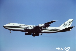 tassさんが、成田国際空港で撮影したエバーグリーン航空 747-132(SF)の航空フォト(飛行機 写真・画像)