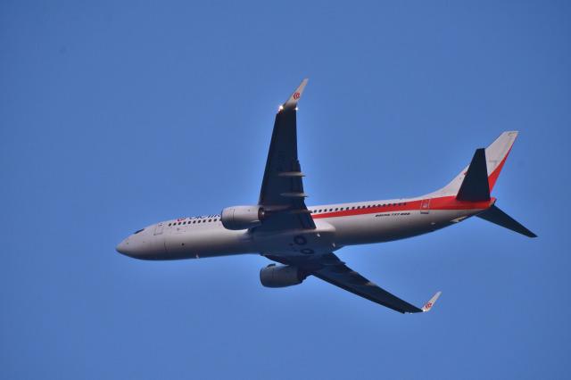 we love kixさんが、関西国際空港で撮影した奥凱航空 737-8KFの航空フォト(飛行機 写真・画像)