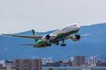 A R Iさんが、福岡空港で撮影したエバー航空 787-9の航空フォト(飛行機 写真・画像)