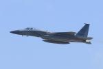 キイロイトリさんが、嘉手納飛行場で撮影したアメリカ空軍 F-15C-27-MC Eagleの航空フォト(飛行機 写真・画像)