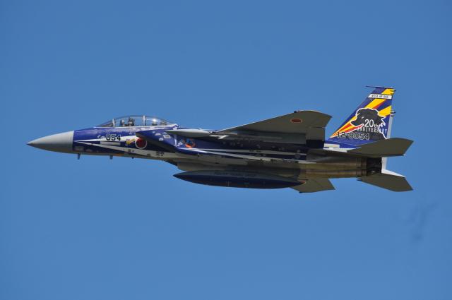Miyazaki5455さんが、新田原基地で撮影した航空自衛隊 F-15DJ Eagleの航空フォト(飛行機 写真・画像)
