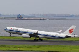 inyoさんが、羽田空港で撮影した中国国際航空 A330-343Eの航空フォト(飛行機 写真・画像)