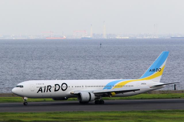 inyoさんが、羽田空港で撮影したAIR DO 767-381/ERの航空フォト(飛行機 写真・画像)