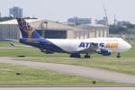キイロイトリさんが、嘉手納飛行場で撮影したアトラス航空 747-481(BCF)の航空フォト(飛行機 写真・画像)