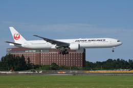神宮寺ももさんが、成田国際空港で撮影した日本航空 777-346/ERの航空フォト(飛行機 写真・画像)