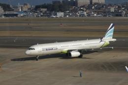 344さんが、福岡空港で撮影したエアプサン A321-231の航空フォト(飛行機 写真・画像)