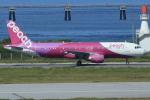 キイロイトリさんが、那覇空港で撮影したピーチ A320-214の航空フォト(飛行機 写真・画像)